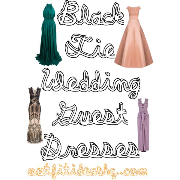 Black Tie Wedding Guest Dresses